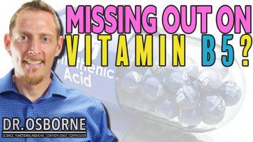Low on Vitamin B5?