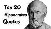 Top 20 Hippocrates Quotes